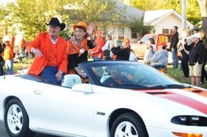Sea of Orange parade