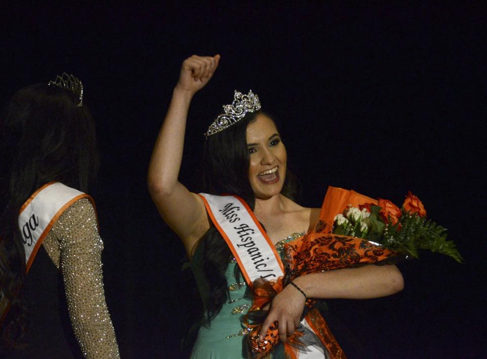 Mariana DeLoera is crowned Miss Hispanic/Latina OSU ...