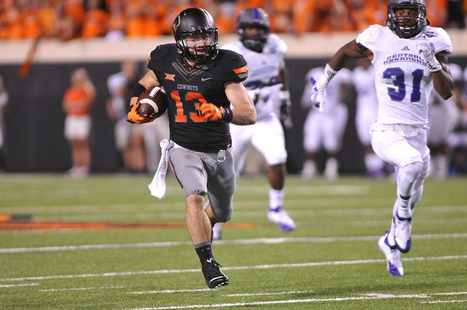 Take nothing for granted: OSU receiver Glidden lives out ...