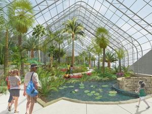 $20 million conservatory planned at Lauritzen Gardens