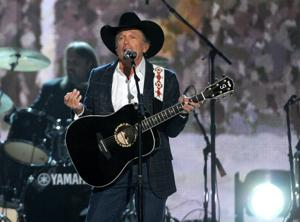 George Strait wins entertainer of the year at ACM Awards