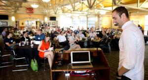 Startups pitch ideas to investors in Lincoln version of 'Shark Tank'