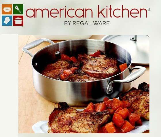american kitchen® cookware by regal ware takes inspiring delicious,American Kitchen By Regal Ware,Kitchen cabinets