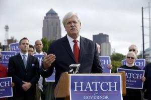 Iowa Gov. Branstad has huge advantage in campaign funds over challenger Jack Hatch
