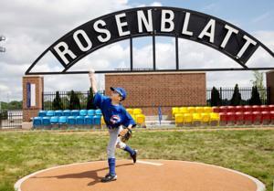 Popular Rosenblatt memorial arch almost didn't happen