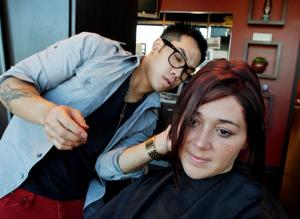 Stylist with flair for hair sees it as art