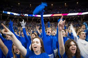 Constants at Creighton home games: win and din