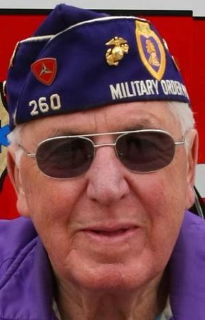 World War II veteran Richard Lang was always a Marine