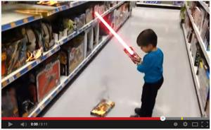 Watch 'Action Movie Kid' do action movie things