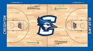 Creighton unveils new logo, court design