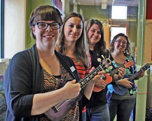 Ukulele librarians found in Gretna Children's Library