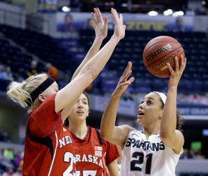 Huskers swamp Spartans, take aim at Iowa in Big Ten final