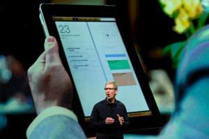 Cook sheds little light on Apple's plans for cash