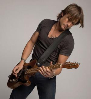 Keith Urban's got a fantastic guitar collection