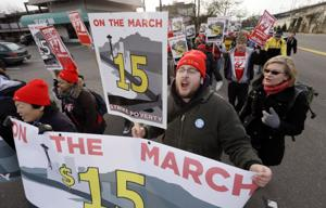Sides see differing impact from $15 minimum wage