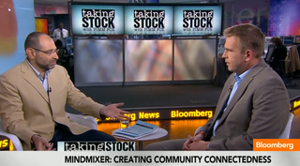 MindMixer gets Bloomberg airtime, site requests around the world