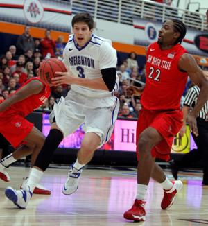 Creighton's rally falls short against San Diego State