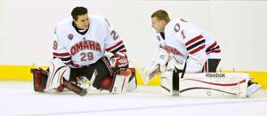 Q&A with UNO goalie Reed Peters