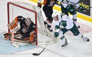 Lancers' Hawkey named USHL's goalie of the year