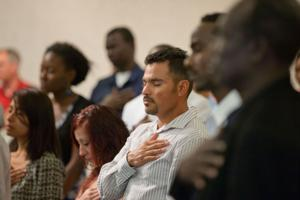 Omaha welcomes 50 new U.S. citizens from 25 countries