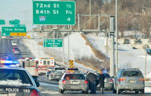 I-80 commuters delayed by accidents