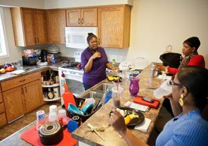 Nonprofit helps move people from public housing into homes