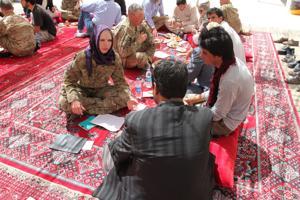 Sowing seeds of hope: Nebraska Guard team mentors Afghan ag officials