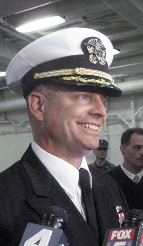 Nebraskan at helm of ship named to honor 9/11 victims