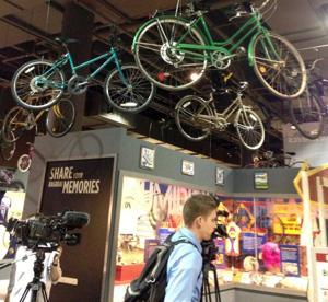 RAGBRAI and vintage bikes the focus of new Iowa exhibit