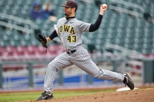 Hawkeye reliever doesn't come from bullpen