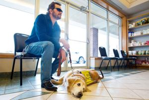 'He's been my best friend for 8 years': Omahan who went blind fights to keep guide dog from suffering same fate