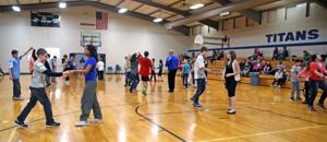 Learning swing dancing for lifelong fitness