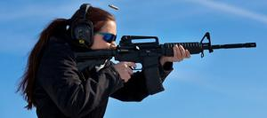 AR-15 owners aim for gun to be seen as hobby, not horror