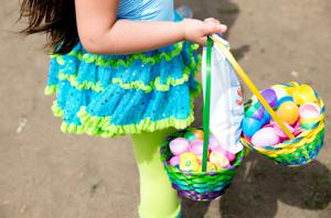 It's a pursuit of pastel at Spring Lake Park's Easter egg hunt