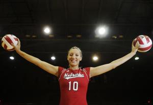Nebraska 100: Nebraska volleyball star Jordan Larson-Burbach earns No. 10 spot
