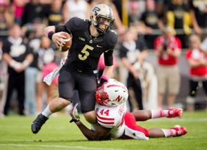 Gregory, Husker defense smother Boilermakers
