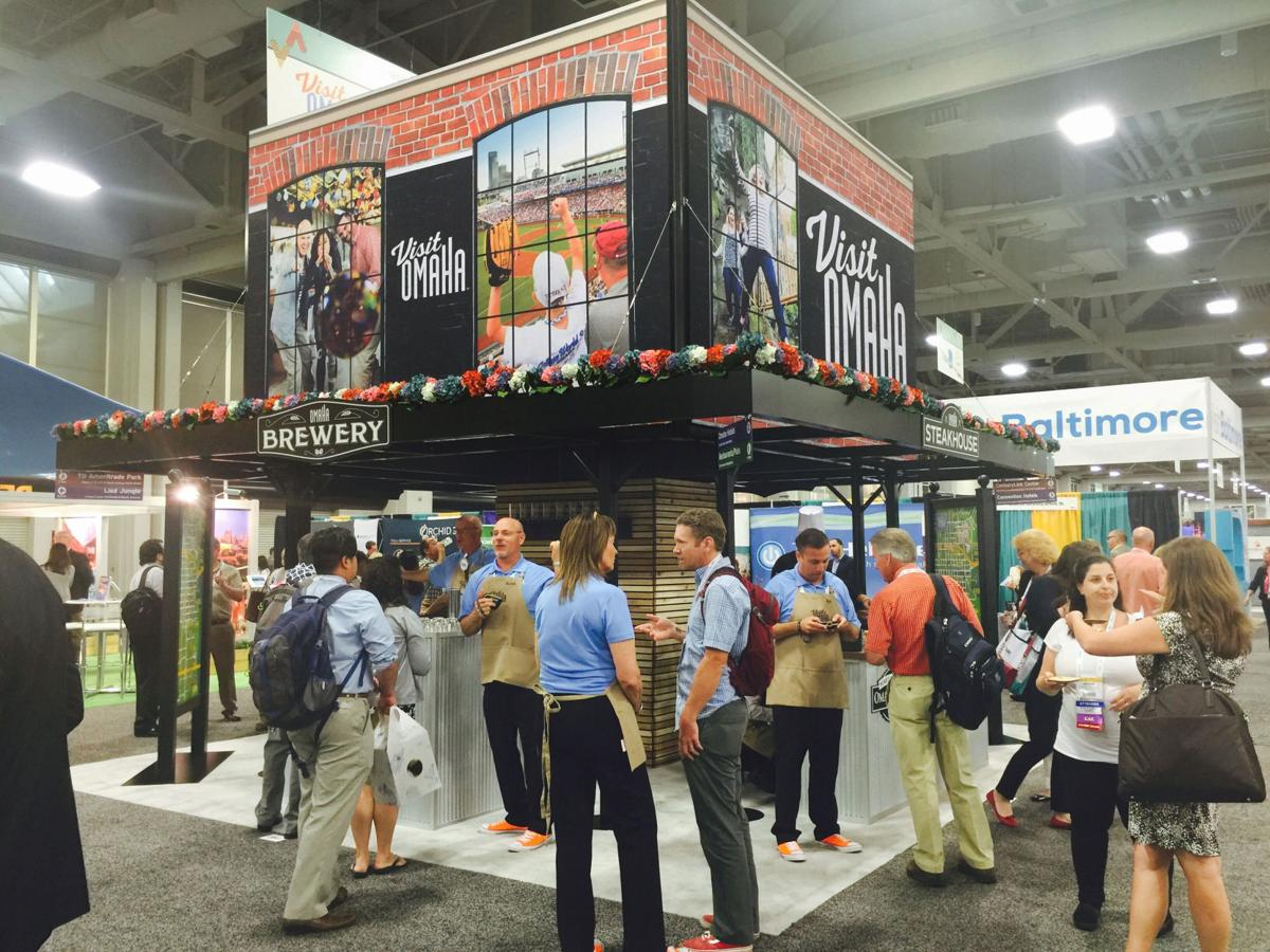 Trade Show Booth Visitors : Visit omaha trade show booth which re created old market