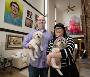 Grace: An Omaha couple comfortable with uncomfortable art