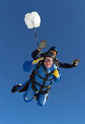 Calif. man skydives on 100th birthday