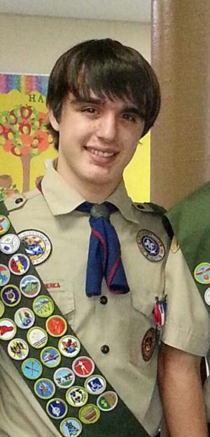 Boy Scout's faith inspires space for others to find strength