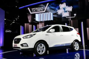 Hydrogen vehicles to challenge electric