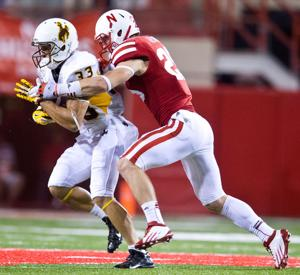 Nate Gerry glad to take a few steps back for Huskers in 2014