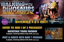 Walking with Dinos Contest
