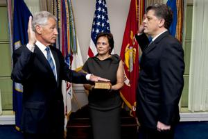 For Chuck Hagel, no time to rest after bruising confirmation fight