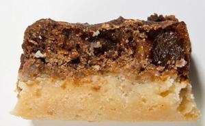 12 Days of Cookies, day 6: Chewy Raisin Walnut Shortbread Bar
