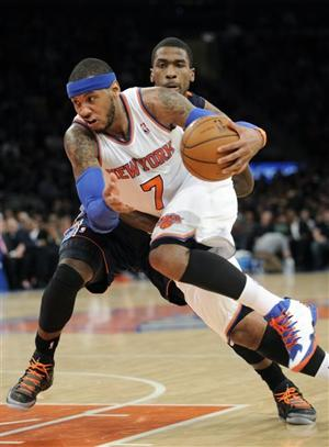 Anthony breaks records with 62 as Knicks roll