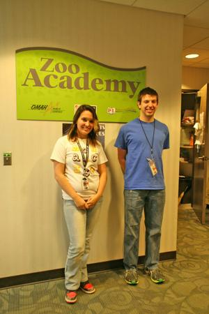 Zoo Academy students compete in science and engineering fair
