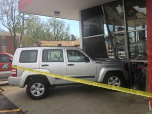 Midtown Bronco's reopens one day after a car crashed into it