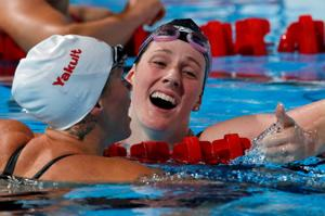 Franklin's six golds are worlds' greatest
