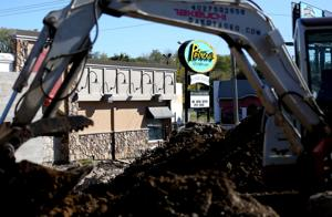 Petrow's owner says giant mud hole represents future of 111-year-old eatery